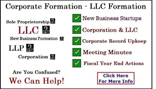 Corporate Formation Rockwall Texas
